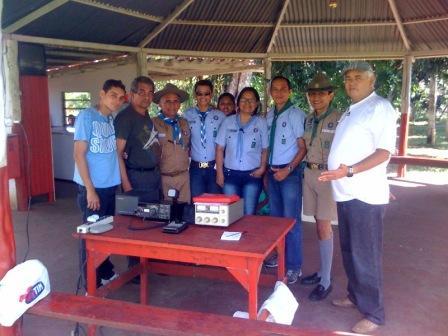 40 anos do Grupo de Escoteiros Ministro Waldemar Pedrosa em Manacapuru/AM