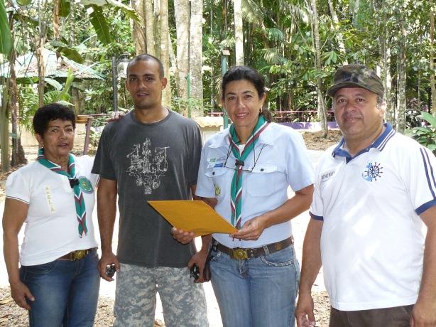 GE Amazonas no bosque da ciência no INPA