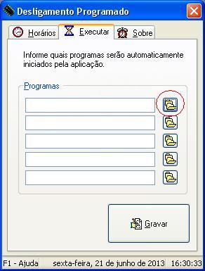 Programa não localizado