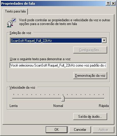 Fala do Windows